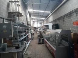 Permuta de equipamentos e refrigeração