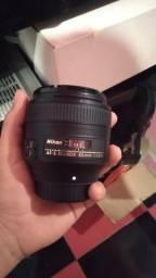 Lente Nikon 85mm 1.8 Novíssima comprar usado  Barra Dos Coqueiros
