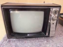 Tv antiga sharp restaurar peças etc ler anuncio