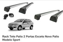 Rack de teto Long Life Fiat Palio 2 portas