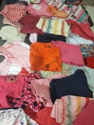 Lote roupa40 peças menina 2/3 anos ( anápolis)