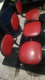 Longarina c/3 cadeiras