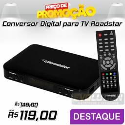 Conversor digital para Tv Roadstar RS-2850 Promoção Aproveite