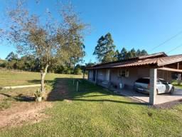 Velleda oferece sítio de 1 hectare, plano, com belíssima casa, confira!