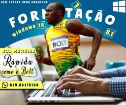 Formatação mais Backup Computador/Notebook- À Domicilio Valparaíso