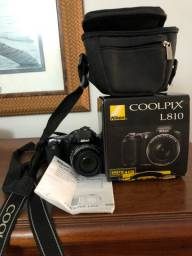 Câmera fotográfica Nikon nova