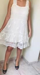 Vestido renda pérola