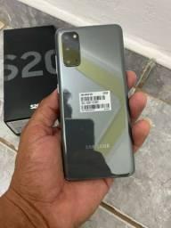 Samsung Galaxy S20 cinza 128gb  ( parcelo e entrego )