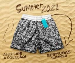 Bermudas summer coleção Nova pré venda todos tamanhos disponível