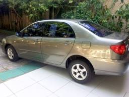 Corolla 2003, 1.6 Automático, gasolina, 2º dono desde 2003.