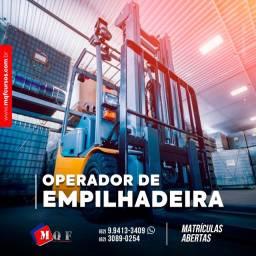 Operador para Máquina Pesada Empilhadeira