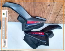 Par carenagem lateral Honda Titan 160 original