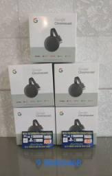Google Chromecast 3 novo lacrado