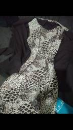 Conjunto vestido e blazer