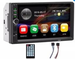 Central Multimídia Automotivo 2din Tela 7 Bluetooth