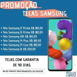 Trocas de Telas Samsung Na Promoção