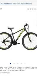Bicicleta velox aro 29 Caloi