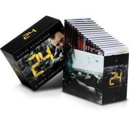 Coleção dvd 24 horas 1ª a 8ª temporada + redenção (49 discos)