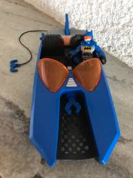 Lancha do Batman DC comics Imaginext