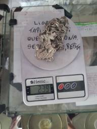 Cordao de prata 950