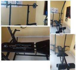 Aparelho Pilates e Musculação