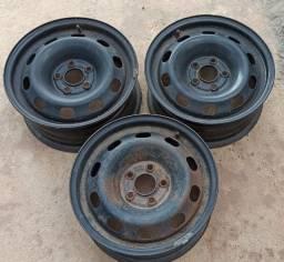 Rodas ferro 14 pol. Furacão 5x100