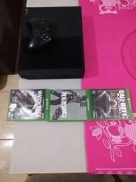 Xbox one 1 manete original e jogos
