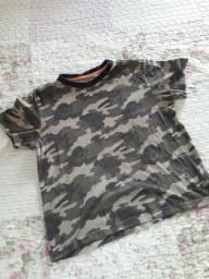Blusa infantil masculina
