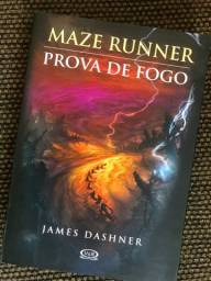 Livro Maze Runner - Prova de Fogo