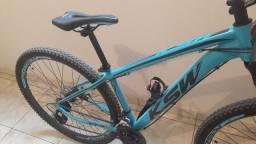Bike ksw aro 29 quadro 15,5 de alumínio