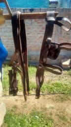 Cabeçada e Peitoral para Cavalo