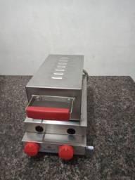 Máquina de Crepe Suíço a Gás