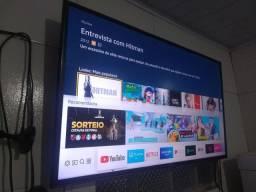 TV smart 4K Samsung 40P aceito cartão