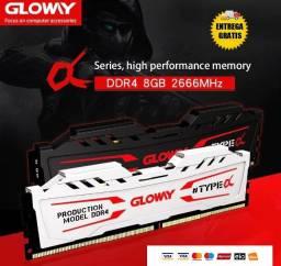 Memoria Ram Ddr4 8gb Pc Gamer Gloway 2666mhz Barato Promoção