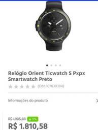Smartwatch ticwhat spxpx Orient. Máquina.. TROCO POR OUTRA SMARTWATCH+ VOLTA.*
