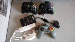 Controles originais de videogame