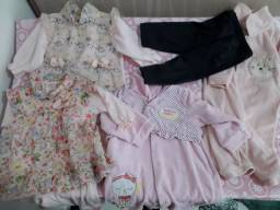 Lote roupas menina