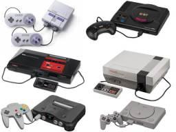 Super Nintendo/Mega Drive/Playstation 1 e Outros