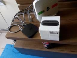 Apple tv 3 geração. Caixa e manual