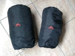 02 Sacos de dormir semi-novos Trilhas&Rumos