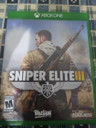 Jogo Sniper elite III Xbox one