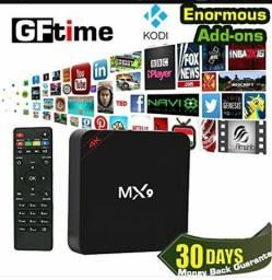 Tv box mx9 conversor para transformar sua tv em smart