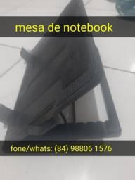 Mesa de notebook regulável