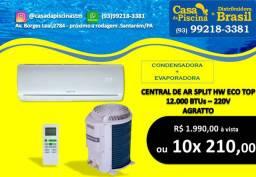Central de Ar 12.000Btus convencional Agratto