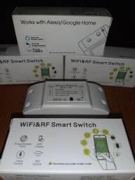 2 X Tuya Smart Switch Inteligente Wifi+rf433 Google E Alexa