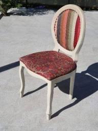 Cadeira Medalhão 4 Peças + 1 Brinde