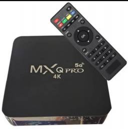 TV box mxq pro 4k 5g Android 10.0 atualizado