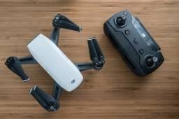 Drone Dji spark com 2 baterias fly more