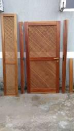 Porta de madeira (usada)