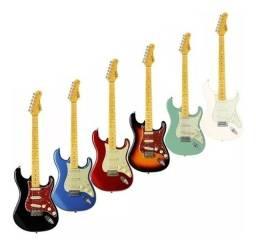 Guitarra Tagima Tg530 Woodstock Strato TG 530 Varias Cores - Somos Loja